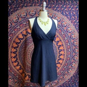 Gap Navy Blue Halter Style dress, small